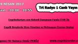 28 NİSAN 2017 SAAT : 10:00 – 10:55 ARASI TRT RADYO 1 CANLI YAYIN