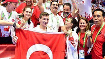 İşitme Engelliler Olimpiyatlarında Karatede 2 Madalya Kazandık