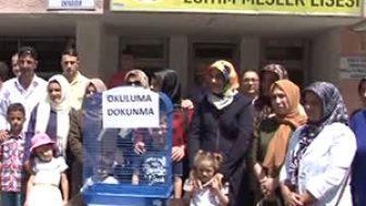 Trabzon Çamlık Özel Eğitim Meslek Lisesi'nin Kapatılmasına Tepki