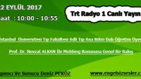 22 EYLÜL 2017 SAAT : 10:00 – 10:55 ARASI TRT RADYO 1 CANLI YAYIN