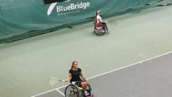Büşra Ün ve Ebru Bulgurcu Tenis Turnuvasında Şampiyon Oldu