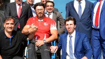 Erzurum Kent Konseyi Başkanı Tanfer'den Engelli Milli Sporcuya Vefa