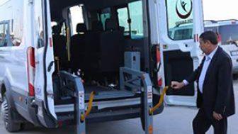 Gazi Yaşargil Eğitim Araştırma Hastanesi'nden Engelli Servis Aracı Hizmeti