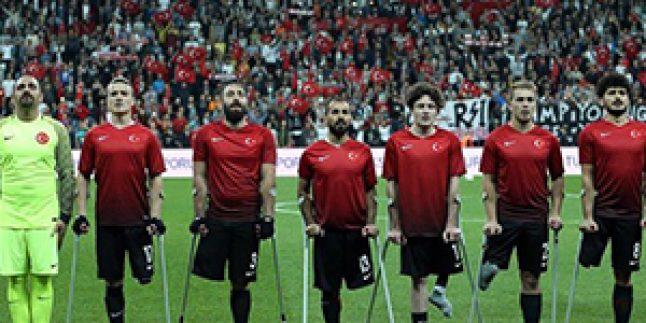 Türkiye Ampute Milli Takımımız Avrupa Şampiyonu Oldu!