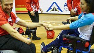 Türk ve Azerbaycan Paralimpik Bocce Takımları Dostluk Müsabakaları