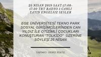 25 NISAN 2019 SAAT:17:08-17:30 TRT RADYO 1 CANLI YAYIN ENGELSIZ SESLER