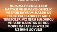 16 MAYIS 2019 SAAT:17:08-17:30 TRT RADYO 1 CANLI YAYIN ENGELSIZ SESLER