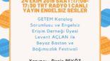 24 Ekim 2019 SAAT:17:08-17:30 TRT RADYO 1 CANLI YAYIN ENGELSIZ SESLER