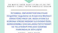 28 MAYIS 2020 SAAT:17:08-17:30 TRT RADYO 1 CANLI YAYIN ENGELSIZ SESLER